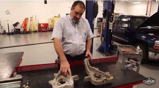 Ford Fusion Lower Ball Joint Removal Tool | Garage Gurus