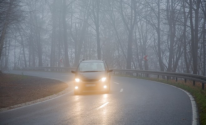car-on-foggy-day
