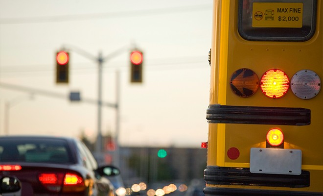 school-bus-in-traffic-close-up