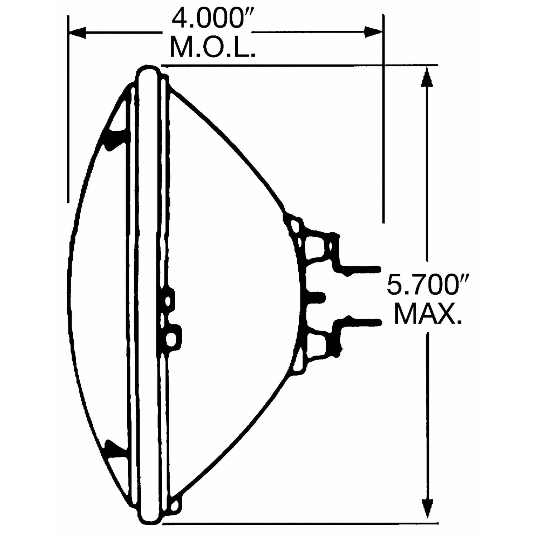 Wagner Lighting Standard Headlight (Box of 1)   H5001 ... on