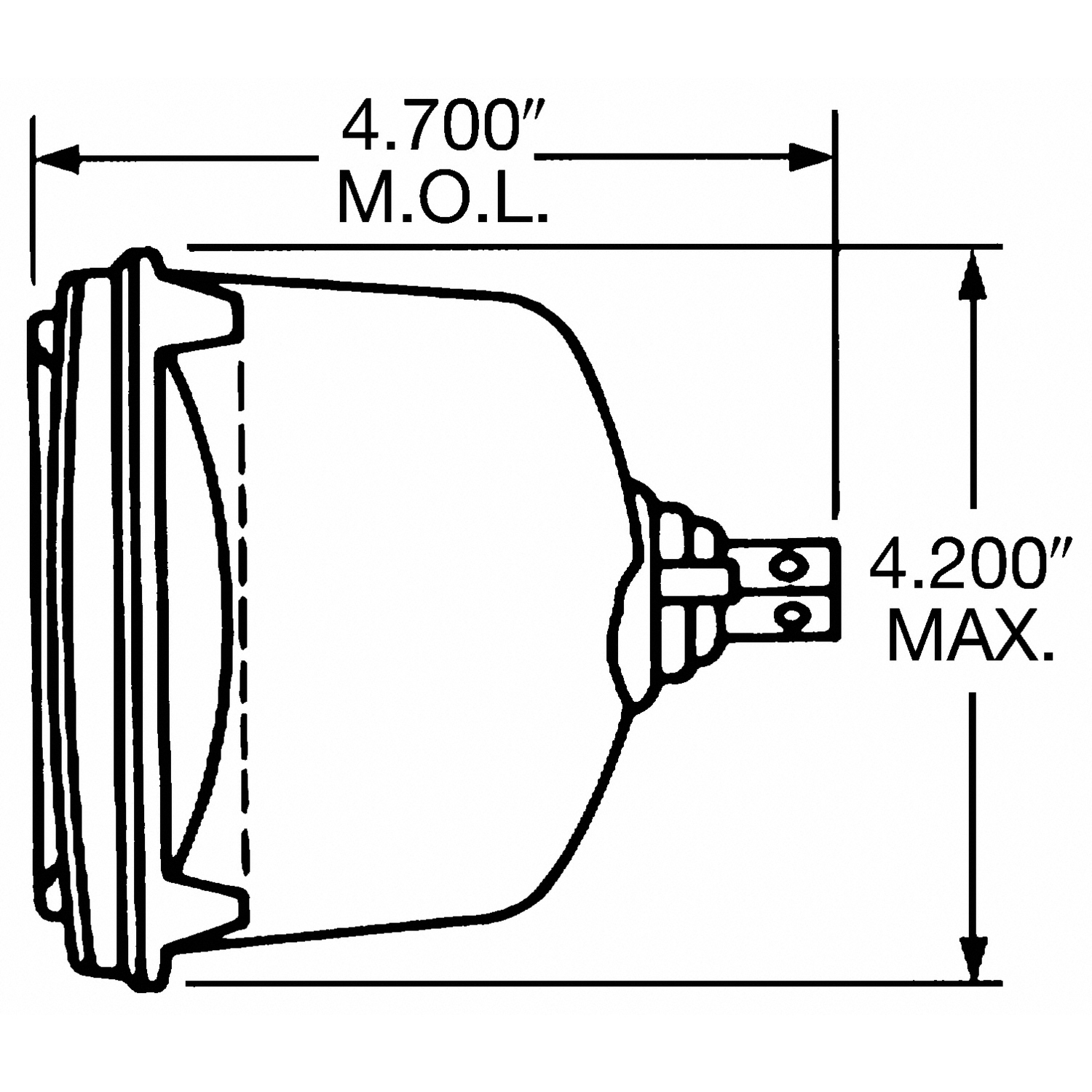 Wagner Lighting Standard Headlight Box Of 1 H6545 Federal Wiring Diagram
