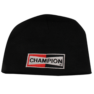 Champion® Knit Beanie - Embroidered Classic Logo