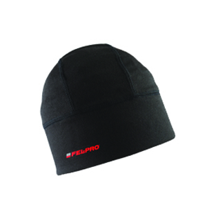 Fel-Pro® Wool Skully Cap - Black Embroidered Classic Logo