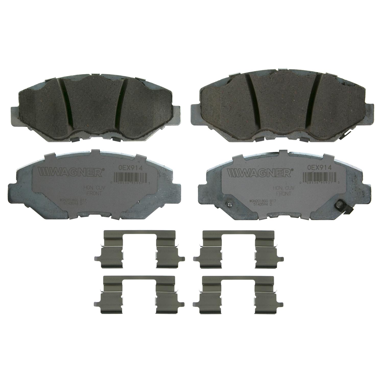 Wagner Brake OEX Ceramic Disc Brake Pad Set | OEX914