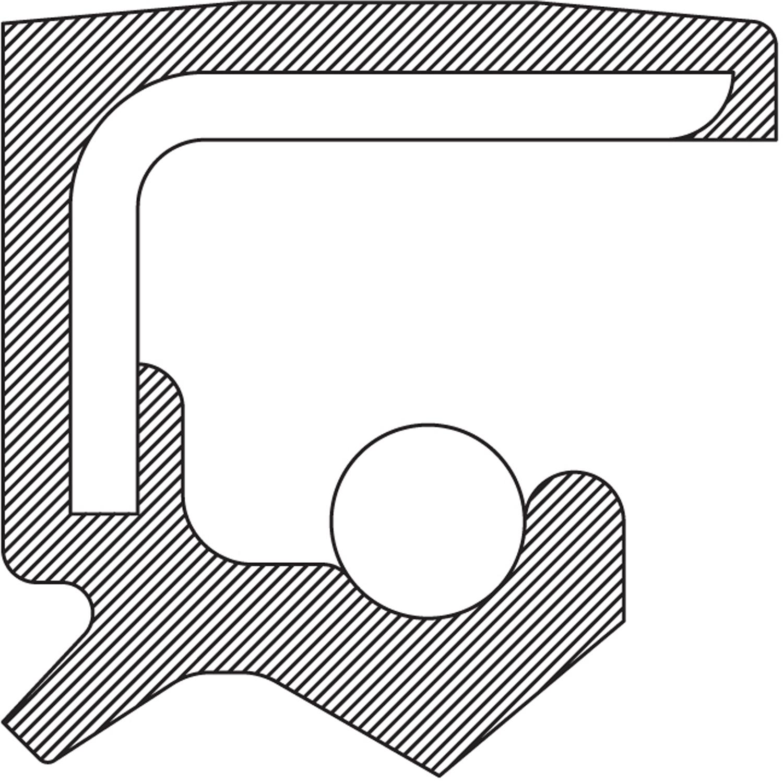 National Oil Seal | 223801 | Federal-Mogul Motorparts