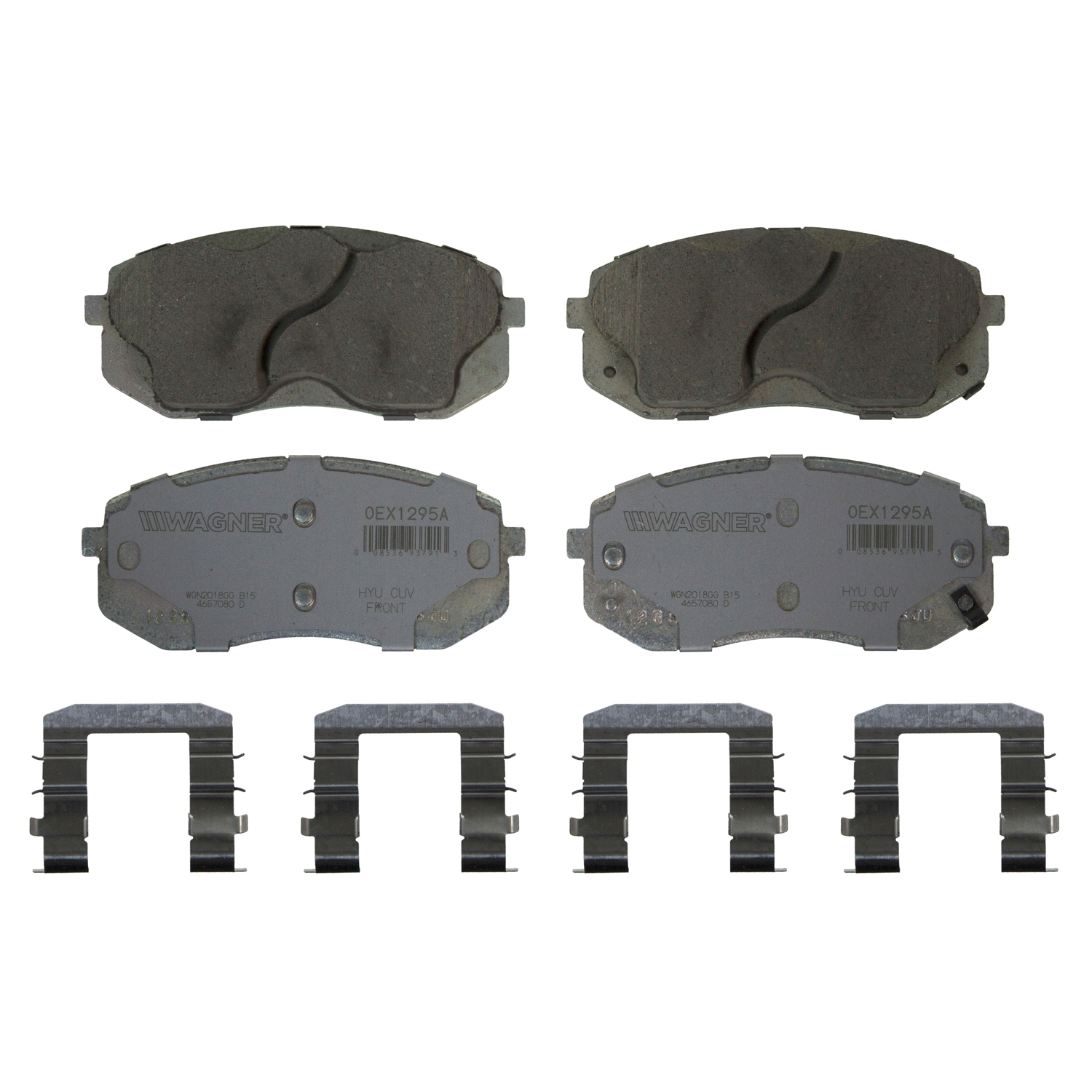 Wagner Brake OEX Ceramic Disc Brake Pad Set | OEX1295A