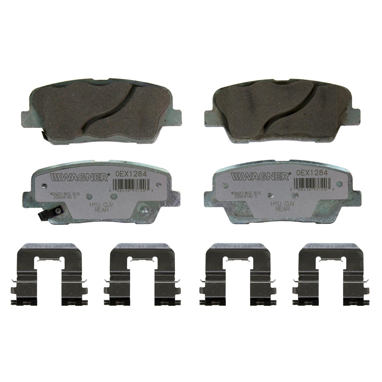 Wagner Brake OEX Ceramic Disc Brake Pad Set | OEX1284
