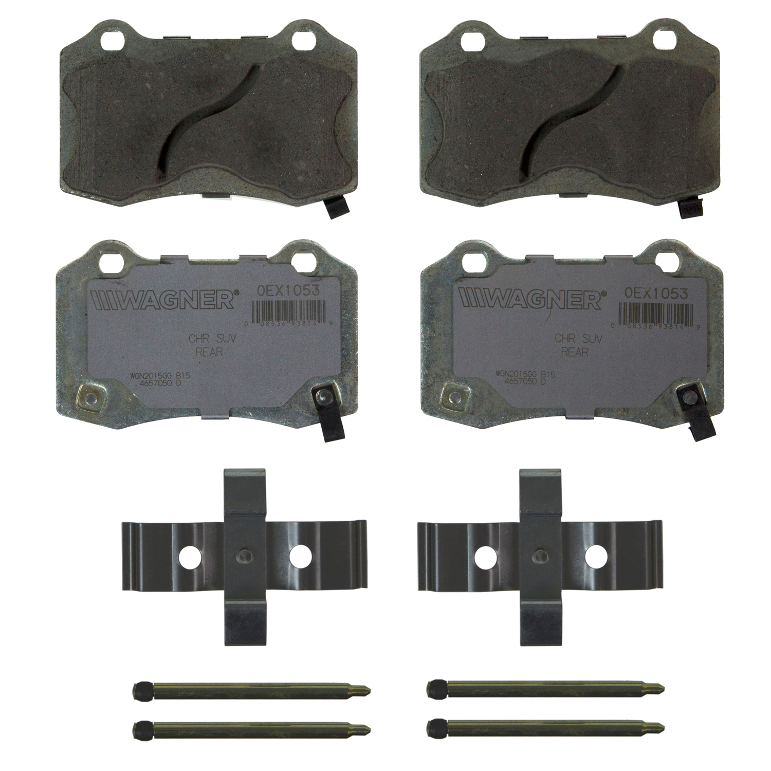Wagner Brake OEX Ceramic Disc Brake Pad Set | OEX1053